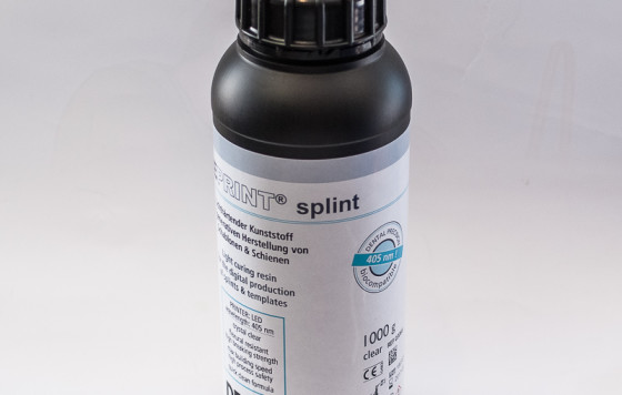 FREEPRINT splint