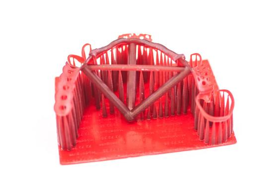 ausbrennbares Druckmodell in Easycast zur Weiterverarbeitung als Modellgussform