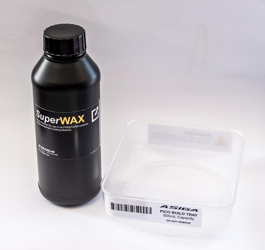 Asiga SuperWAX Flasche 500ml